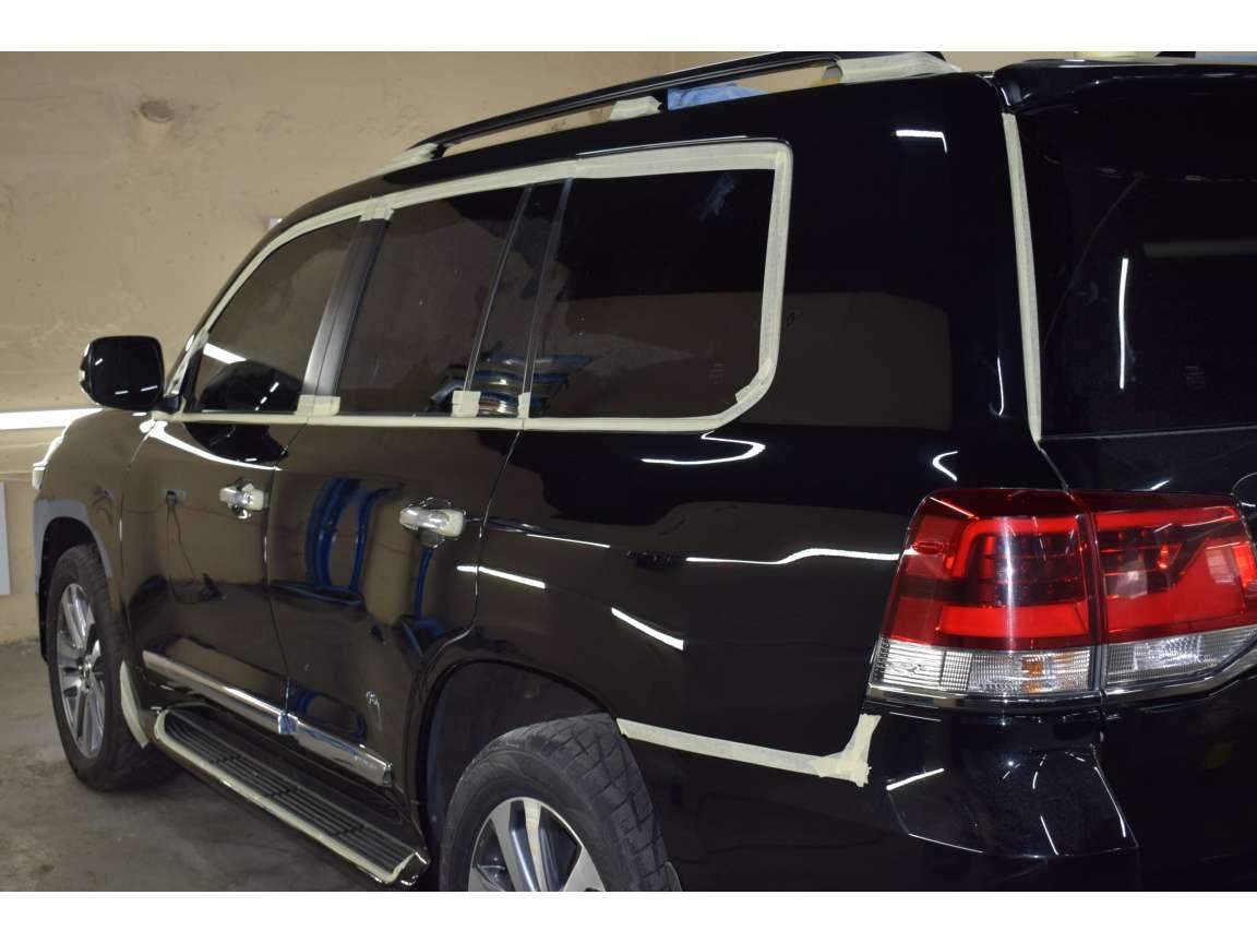 Toyota Land Cruiser 200 детейлинг полировка