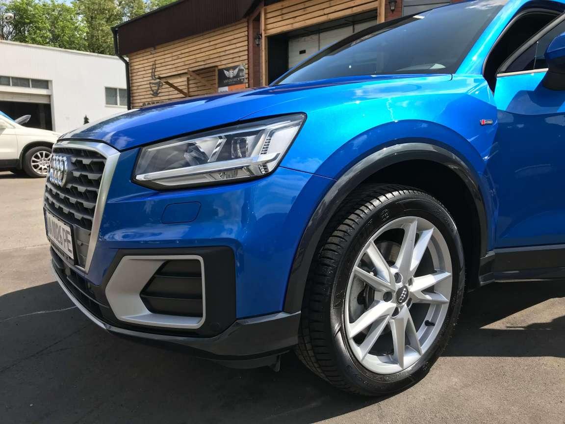Нанокерамика Ceramic Pro 9H на авто Audi