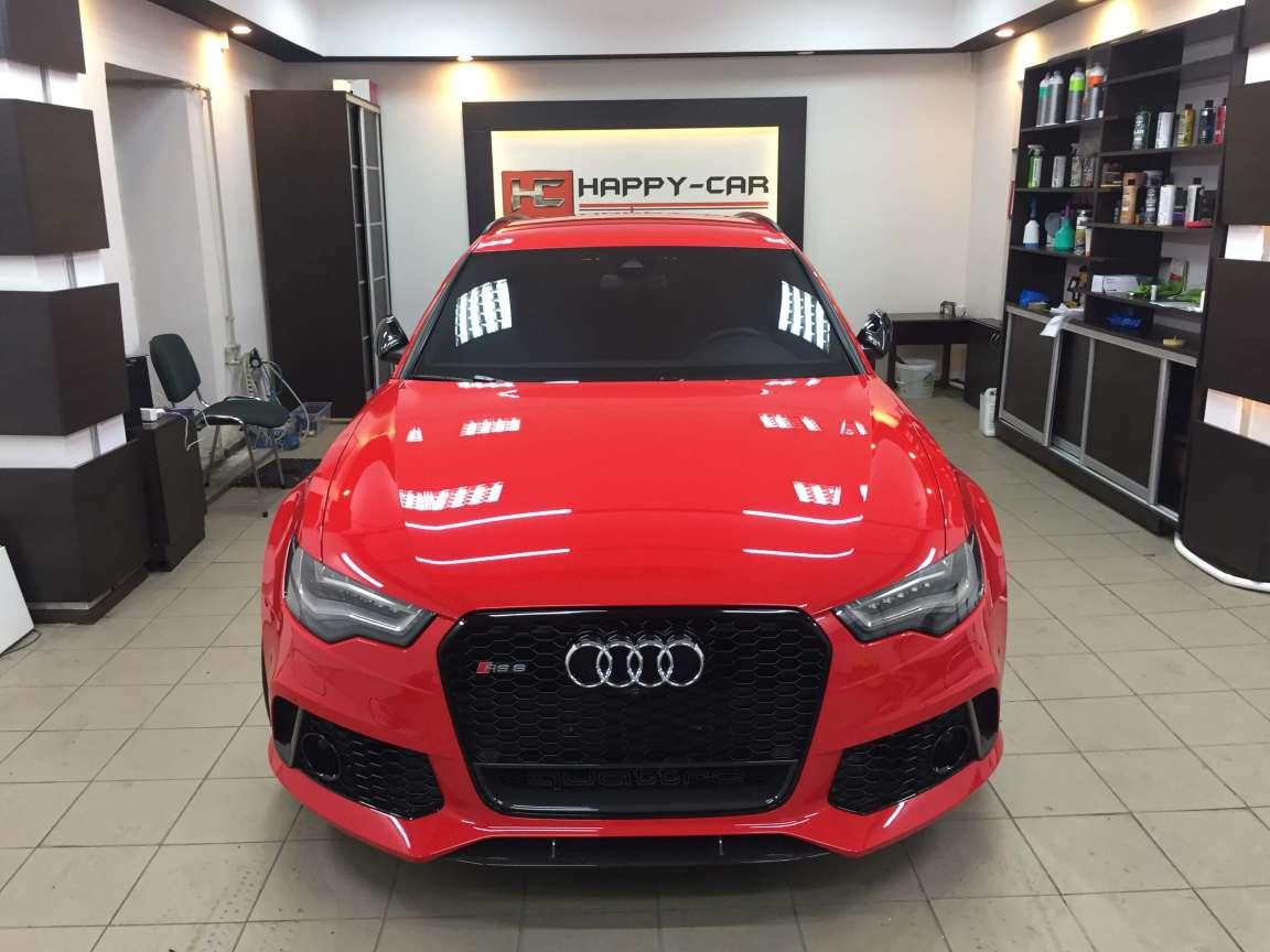 Комплекс детейлинг работ по Audi RS6