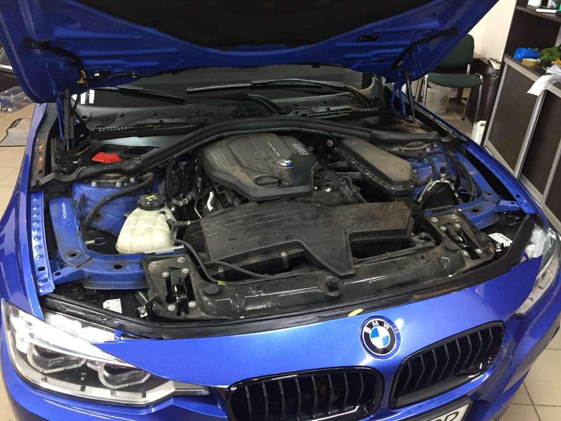 Комплекс детейлинг работ по BMW 3