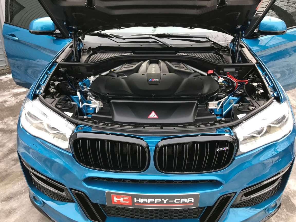 Детейлинг кузова и салона BMW X6