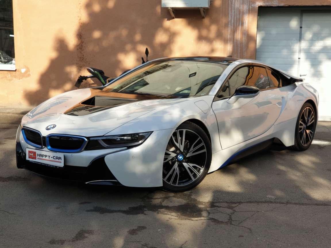 BMW i8 тонировка стекол