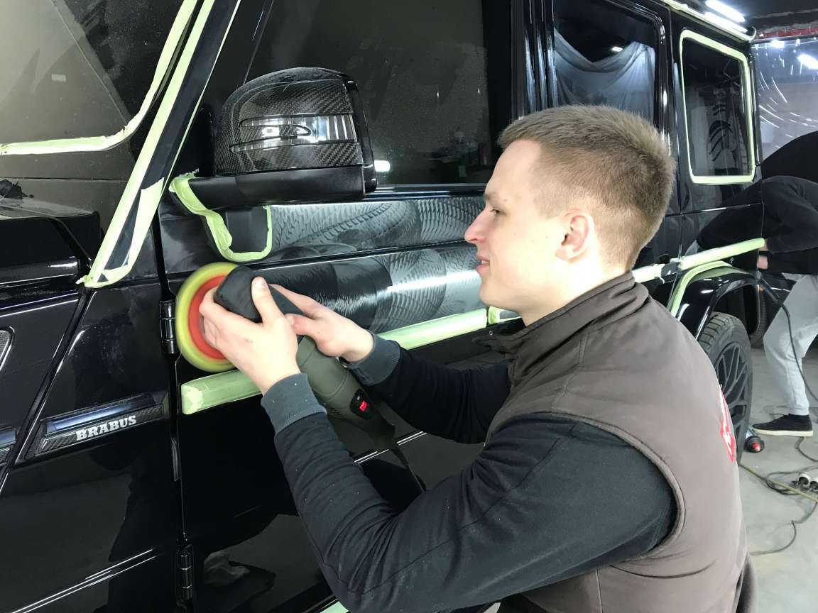 Нанокерамика на  Mercedes Gelendwagen
