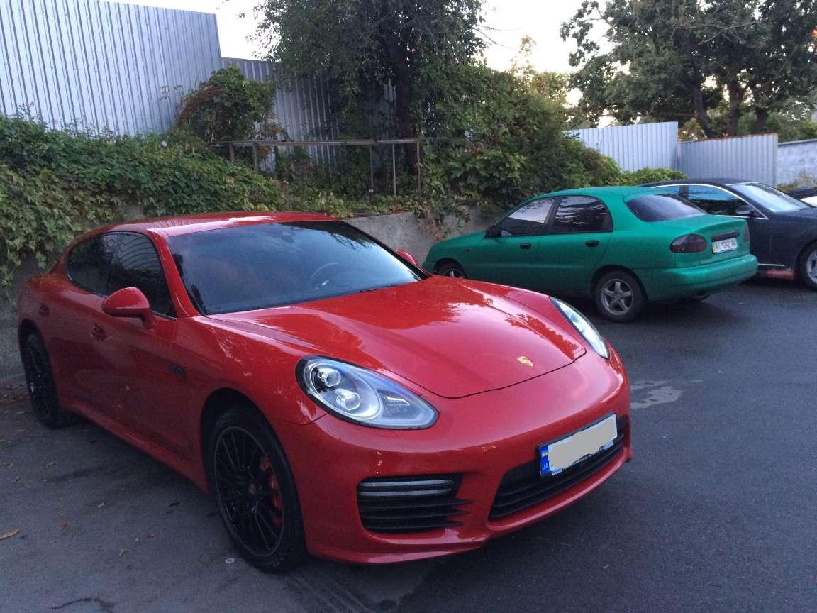 Porsche Panamera - тонирование