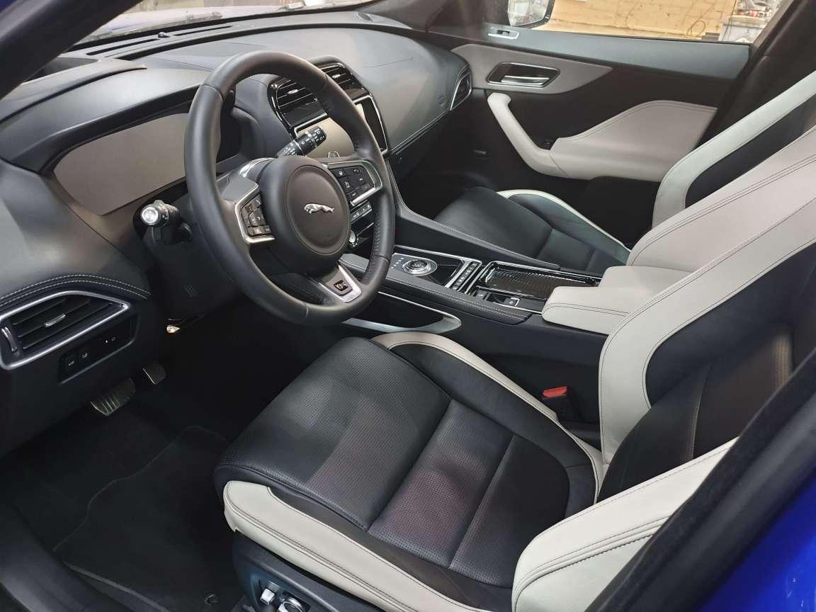 Jaguar F-Pace полное восстановление салона