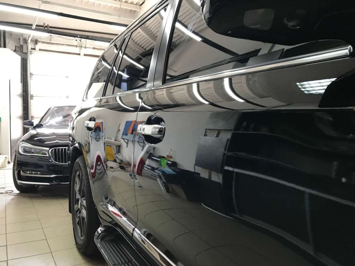 Комплекс детейлинг работ по Lexus LX 570