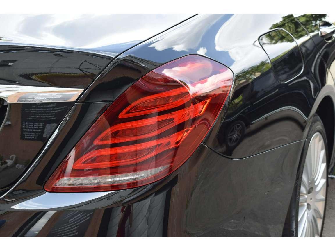 Mercedes 222 детейлинг кузова