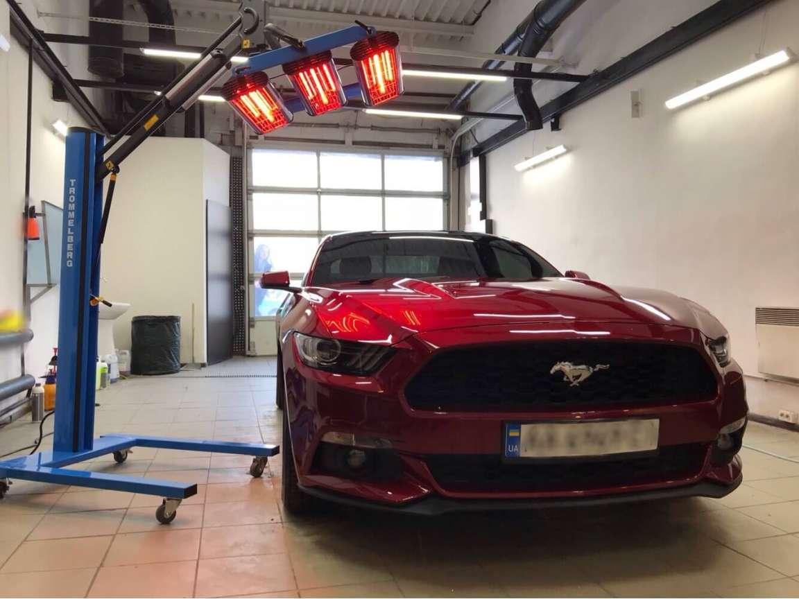 Mustang комплекс детейлинг услуг