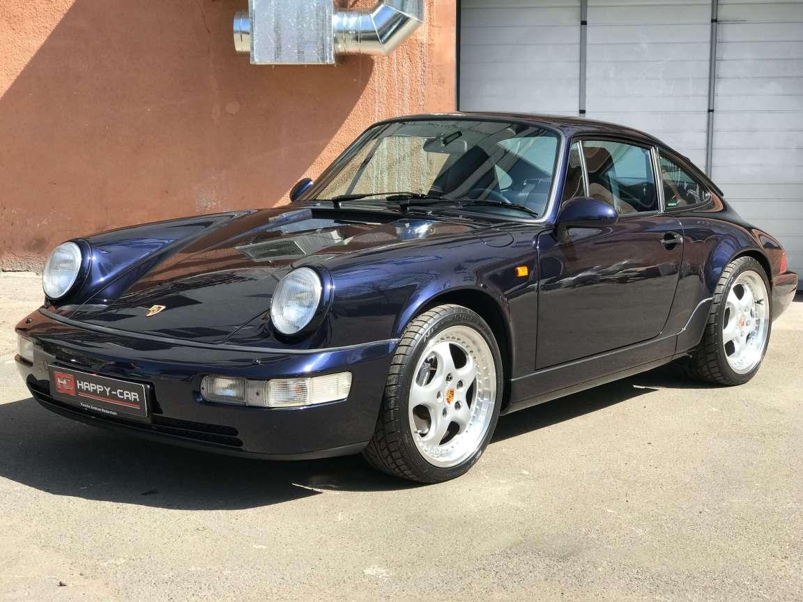 Детейлинг кузова на Porsche Carrera 911