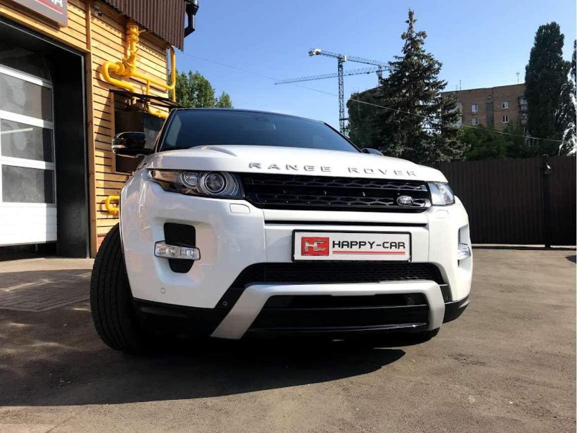 Полировка + защитное керамическое покрытие на Range Rover Evoque