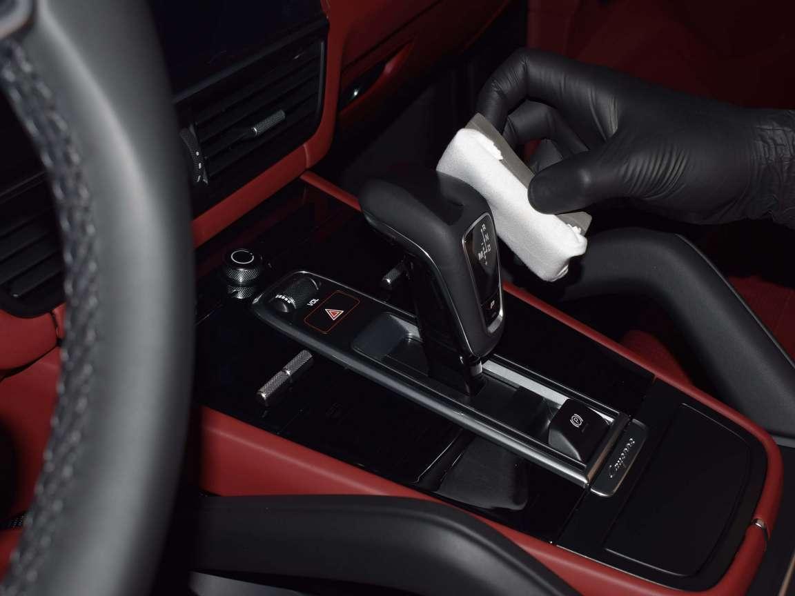 Range Rover  защитное покрытие на кожу
