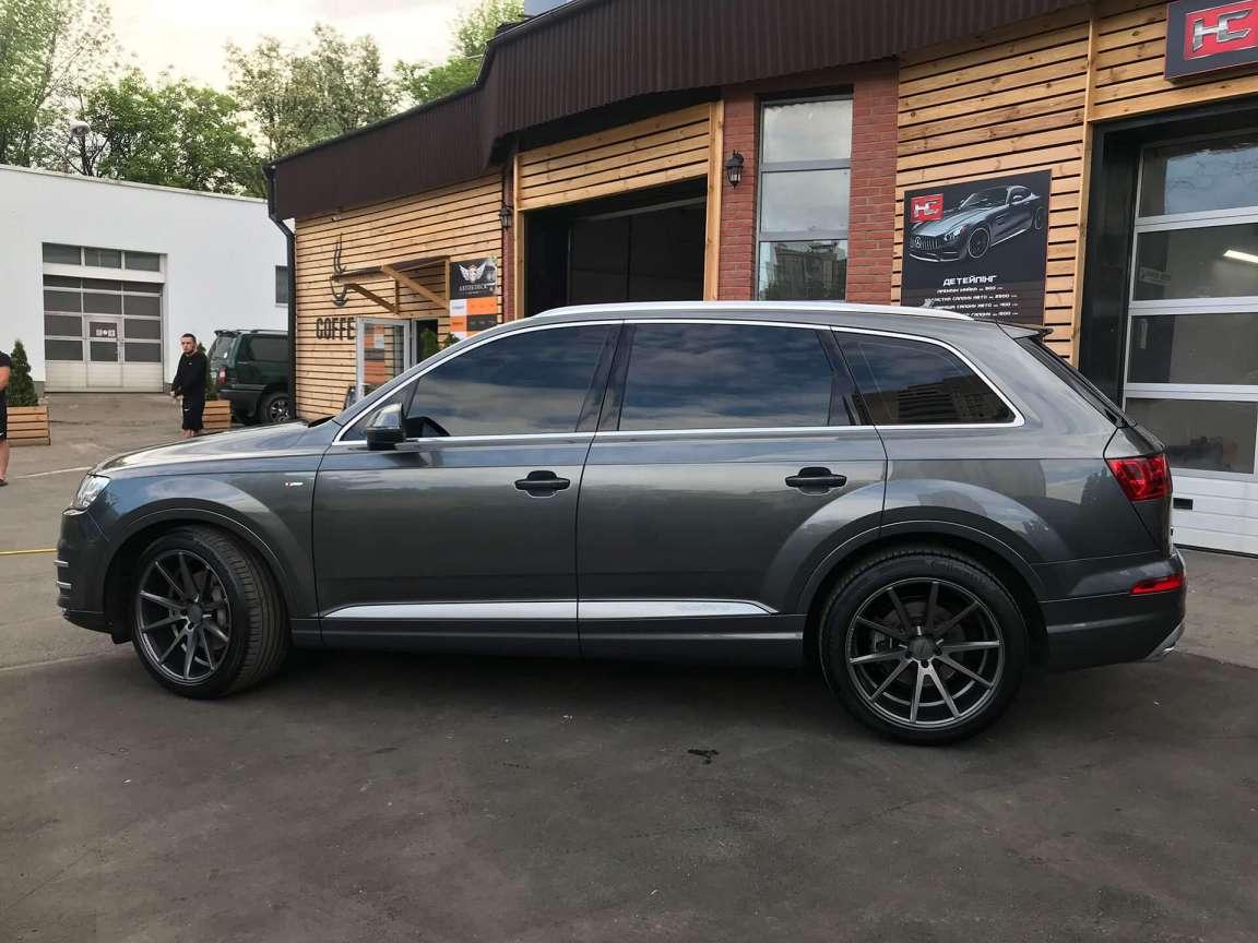 Полировка+защитное покрытие на кузов Audi Q7