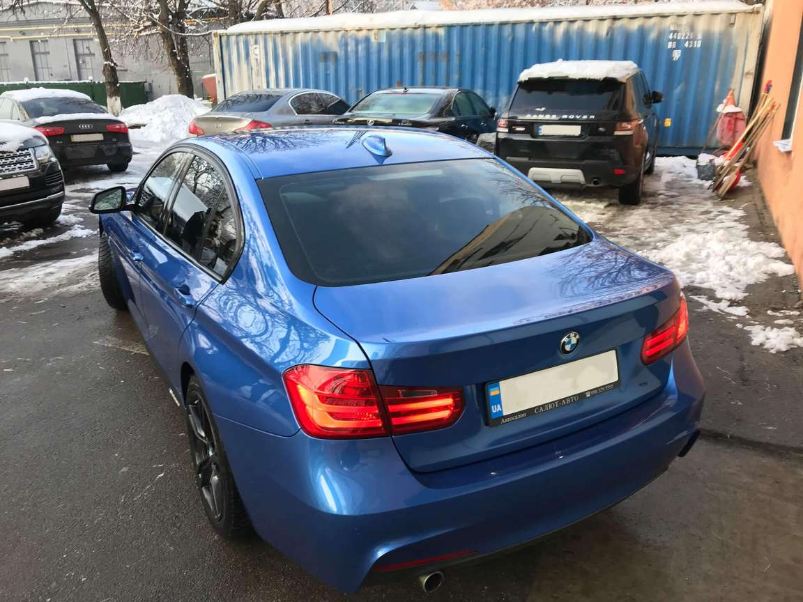 Комплекс работ по BMW 3 Series