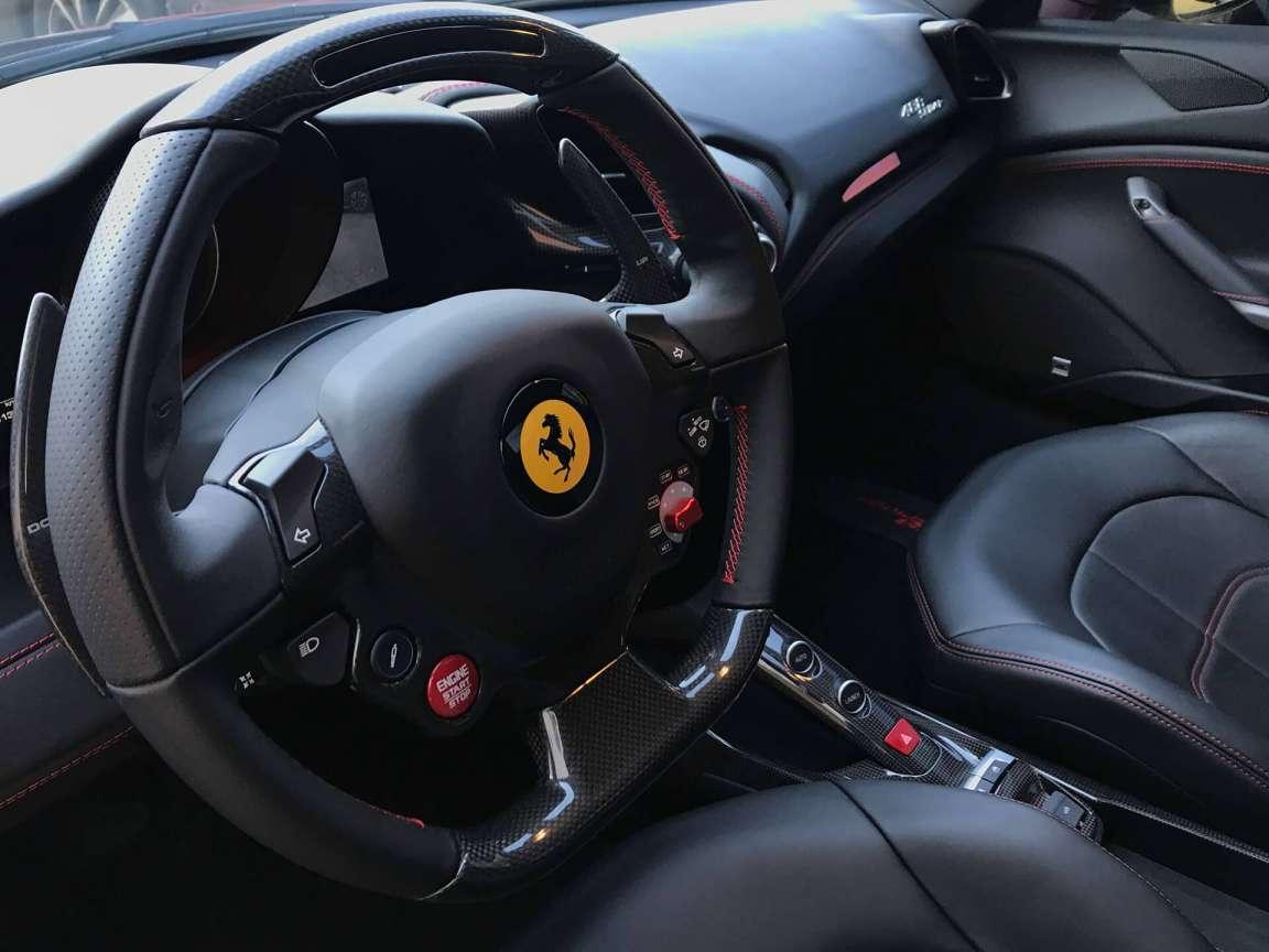 Детейлинг уход Ferrari