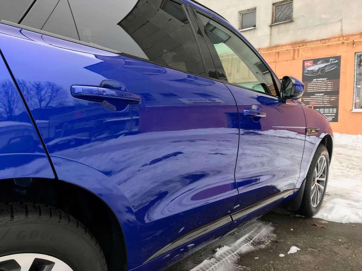 Jaguar F-PACE подготовка к зиме