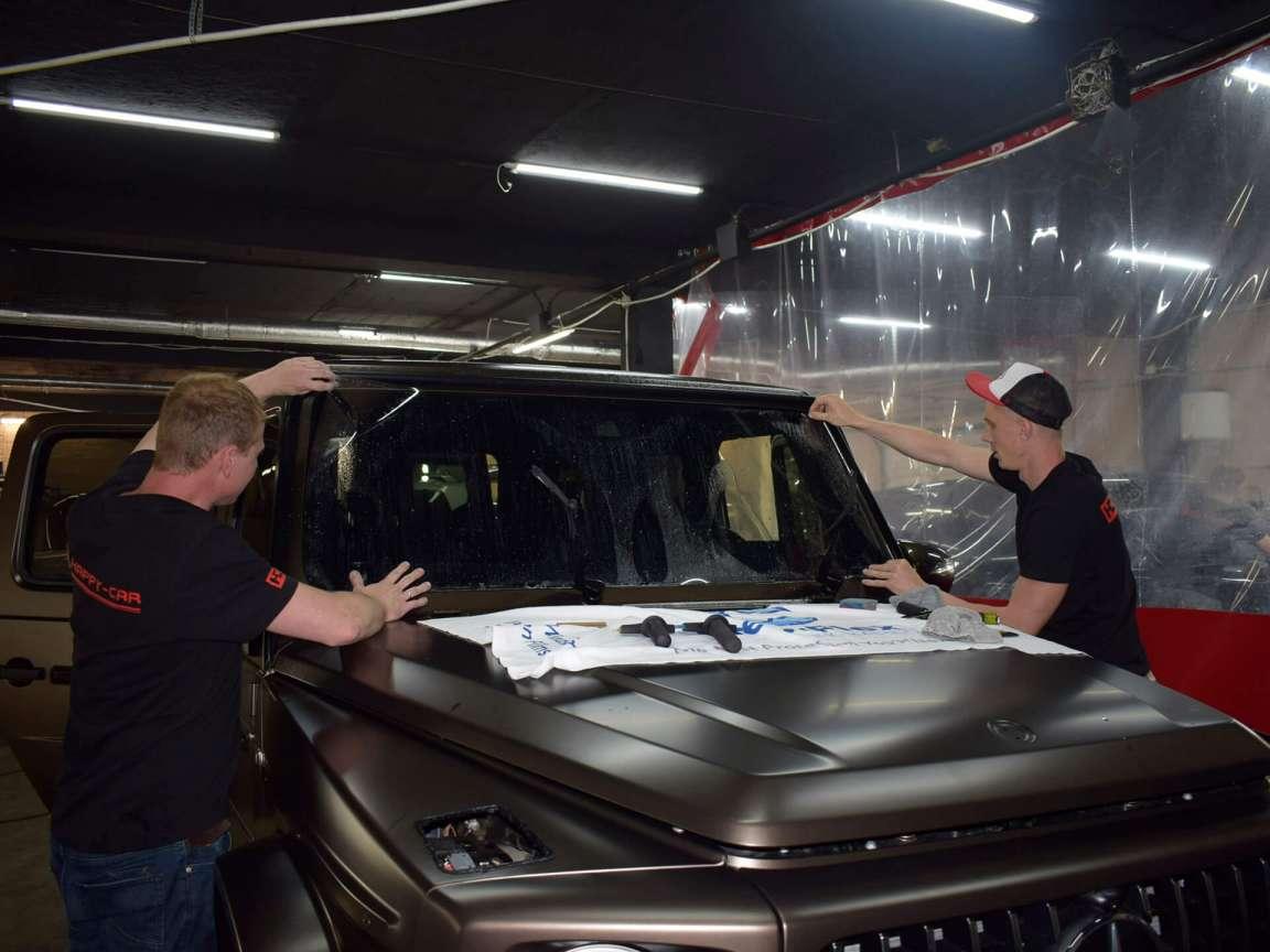Mercedes-Benz G-Class защита экстерьера