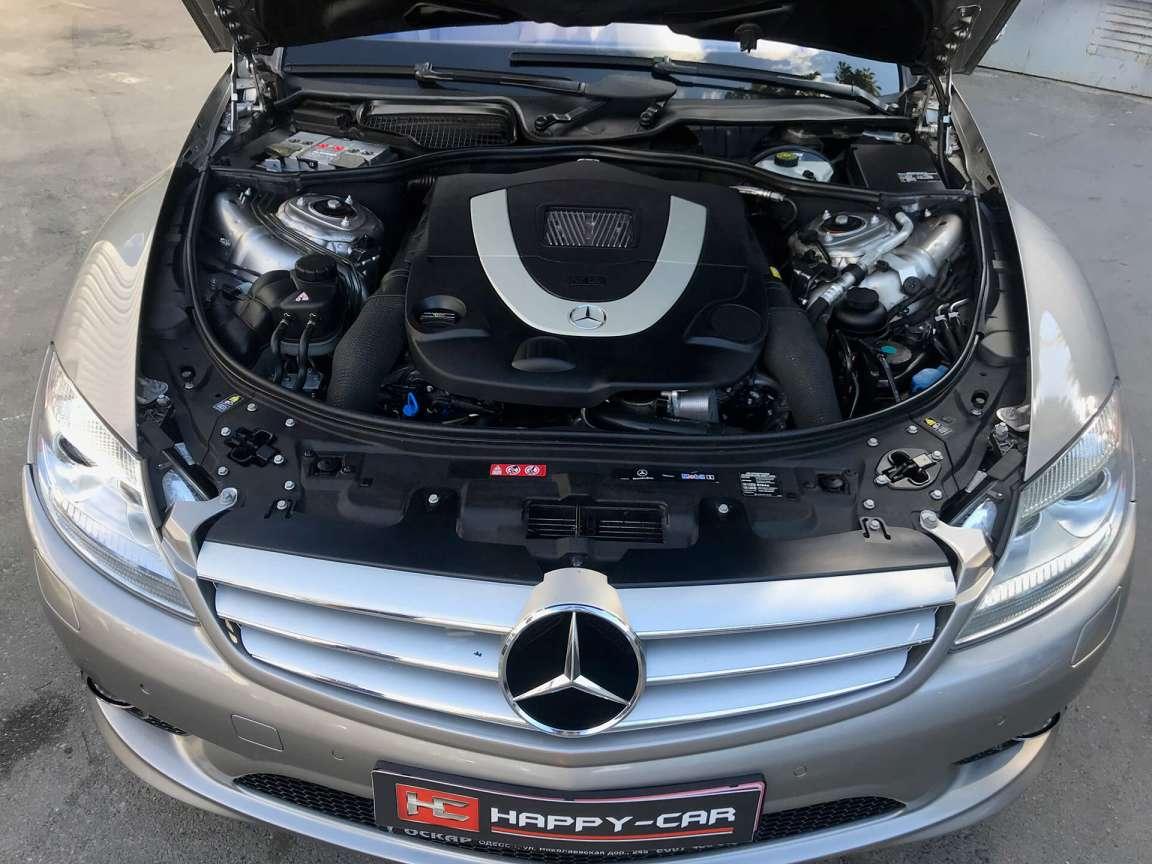 Комплекс детейлинг работ по Mercedes CL550