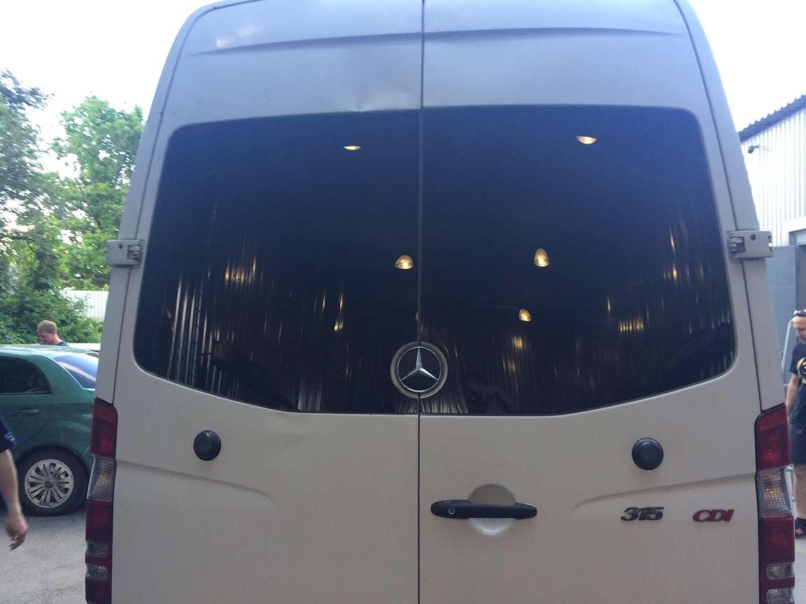 Mercedes Sprinter Полная тонировка