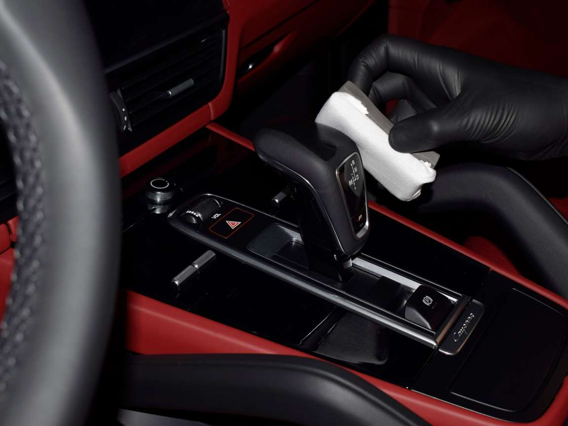 Porsche Macan  защитное покрытие на кожу