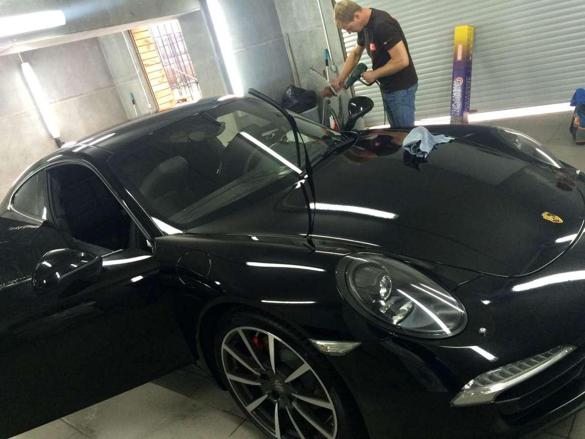 Porsche Carrera Полная тонировка