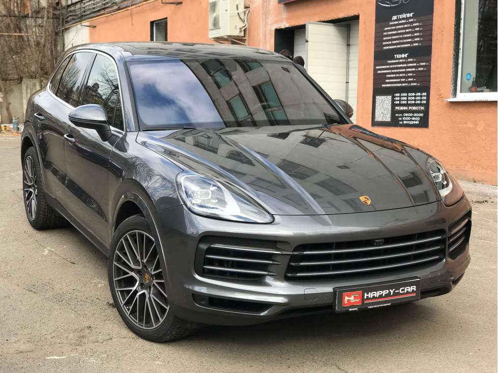 Тонировка Porsche Cayenne