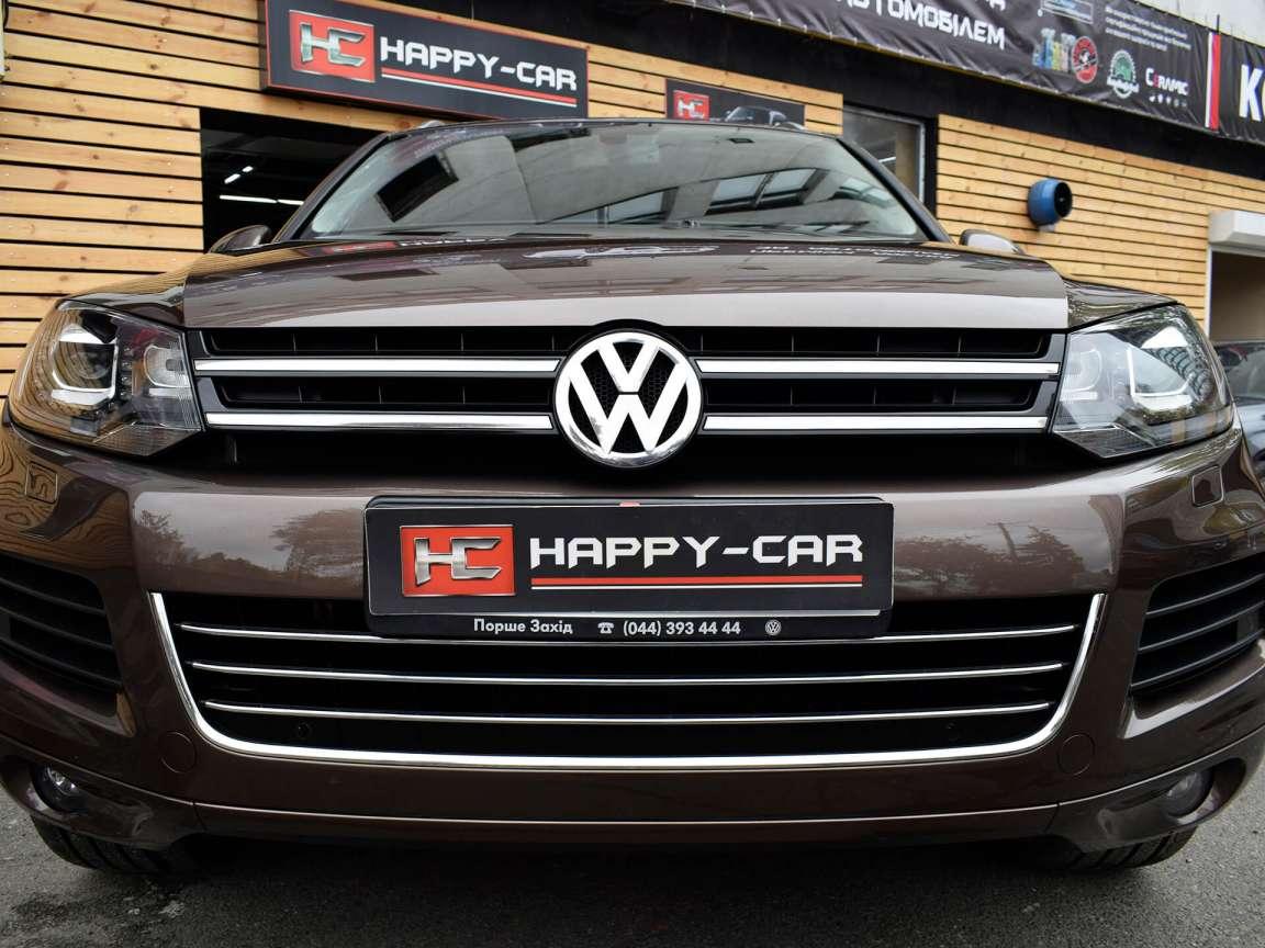 Volkswagen Touareg полировка кузова
