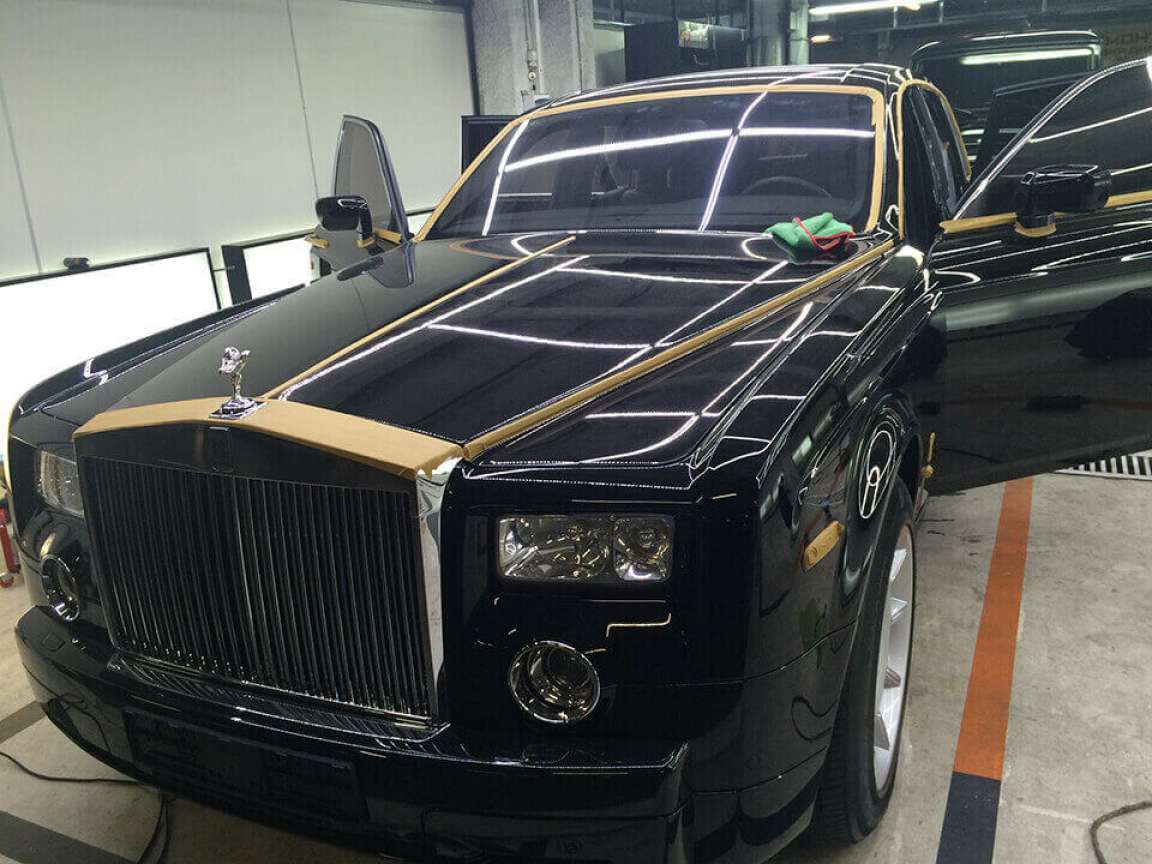 Rolls Royce Phantom Реставрация салона