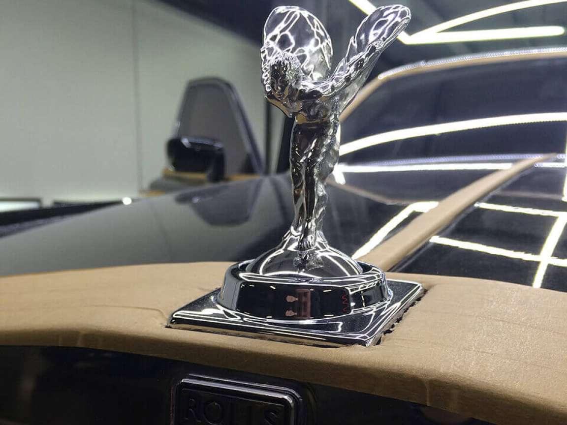 Rolls Royce Phantom Реставрация салона