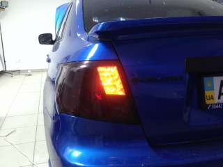 Subaru Impreza Тонировка передней и задней оптики
