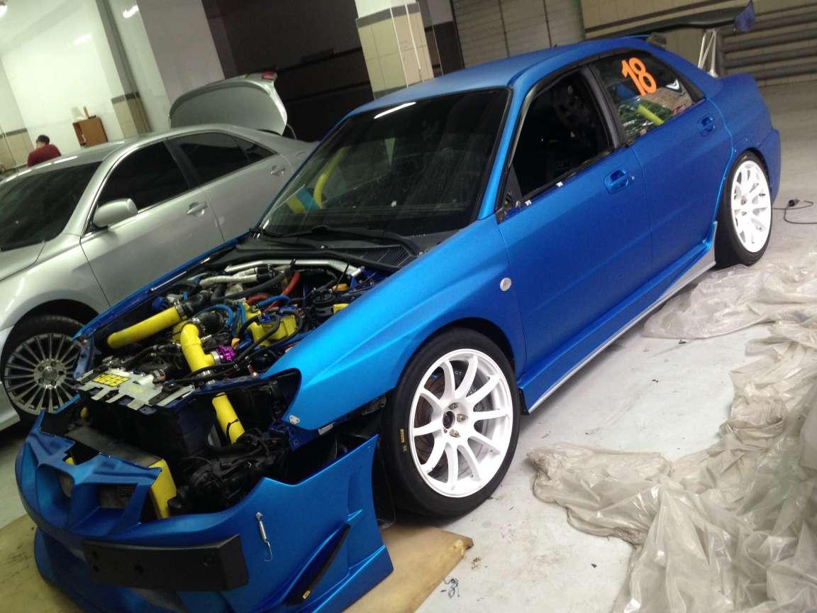 Subaru Impreza - Полная оклейка автомобиля
