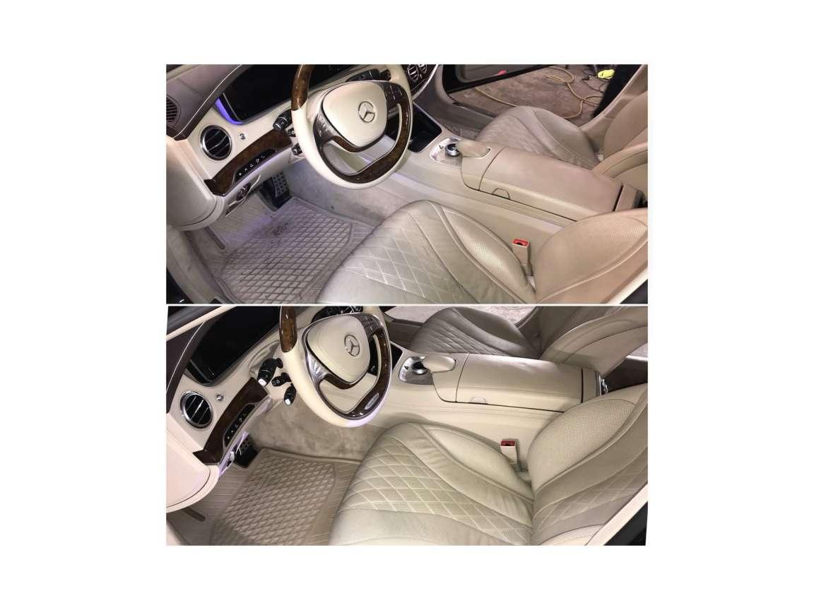Детейлинг комплекс  в Mercedes S500 4matic