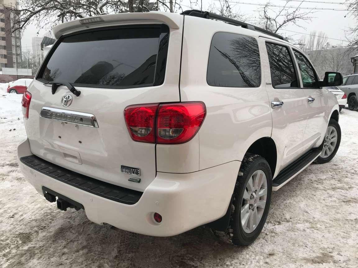 Toyota Sequoia комплекс детейлинг работ